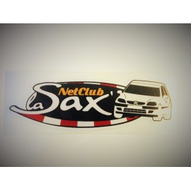 Sticker logo Saxo