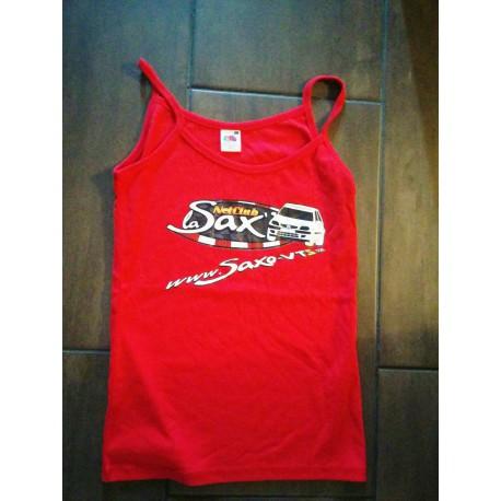 Tee-Shirt Femme NetClub logo La Sax'